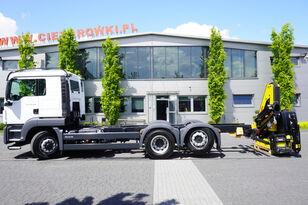 грузовик шасси MAN TGS 26.400 , HYDRODRIVE , 6x6x4 , NEW , UNUSED , NEW CRANE