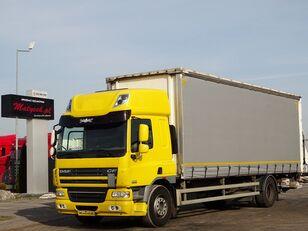 грузовик штора DAF CF 75.310 / CURTAINSIDER - 8,6 M / ELEVATOR / MANUAL / SLEEP CAB