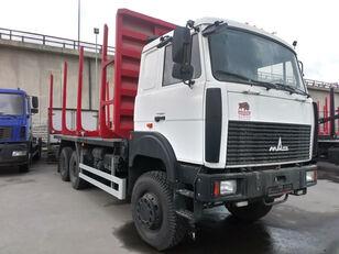 новый лесовоз МАЗ 6317F9-540-000