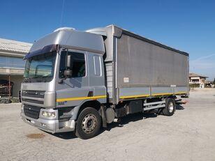 тентованный грузовик DAF CF 75.310 180 QLI CENTINATO + PEDANA !!!