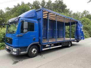 тентованный грузовик MAN TGL 12.220 BL EEV , 7,20m , 6-Gänge manuall, Klima, TOP