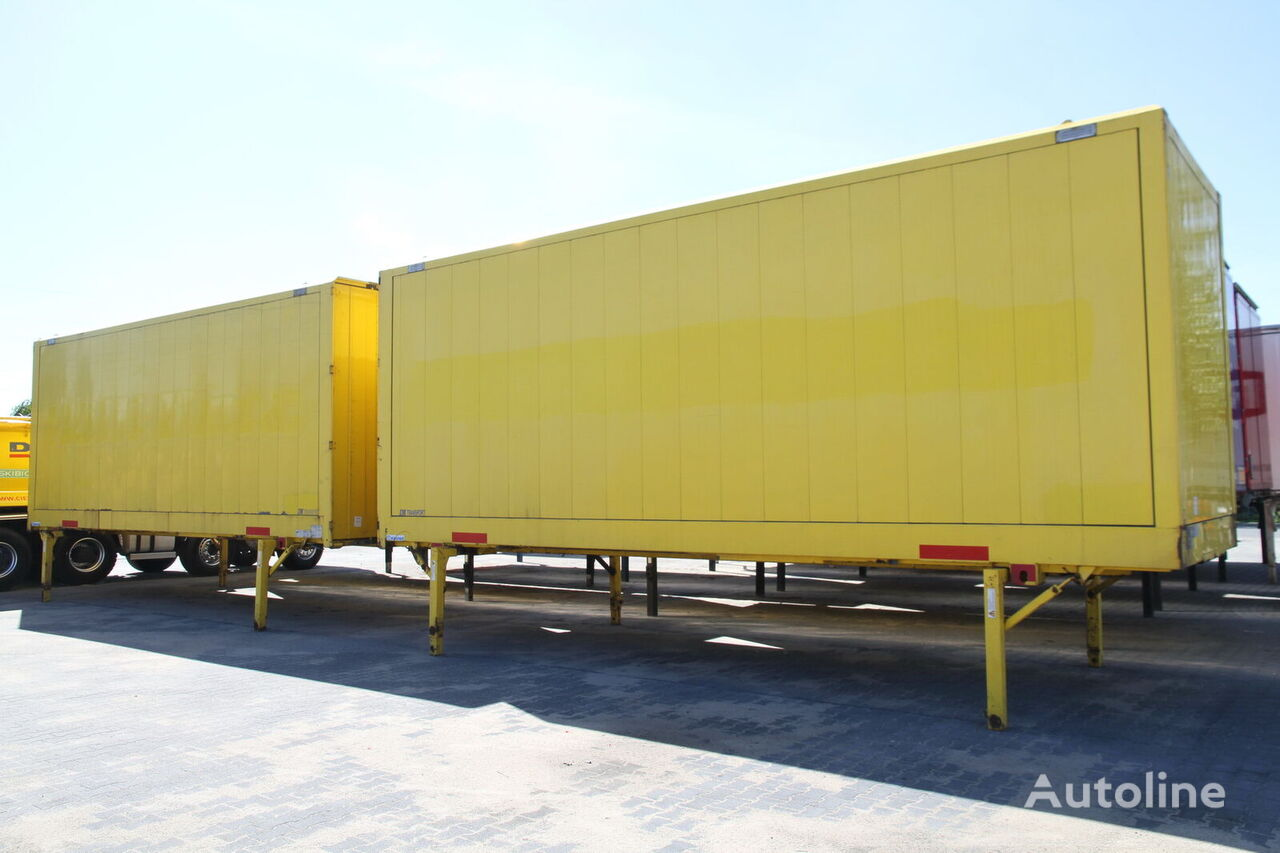 съемный кузов - фургон KRONE BODY BDF CONTAINER BOX CLOTHES CARRYING WK 7.7 NSTGI