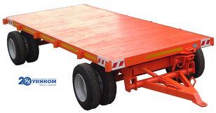 новый прицеп платформа Прицепы для перевозки длинномерных составных конструкций весом д