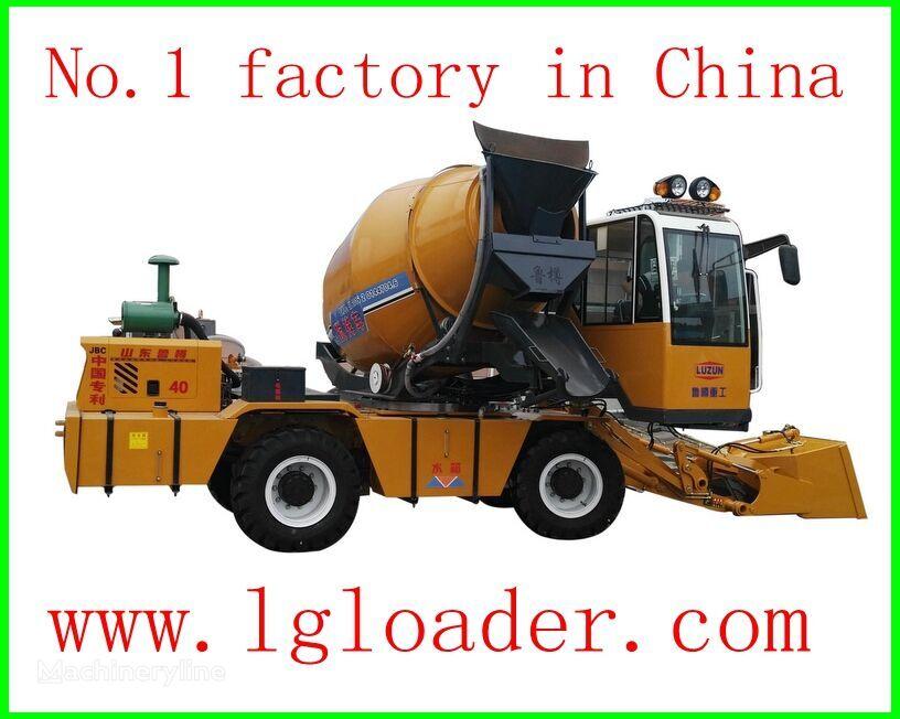 новый автобетоносмеситель LUZUN self loading concrete mixer1