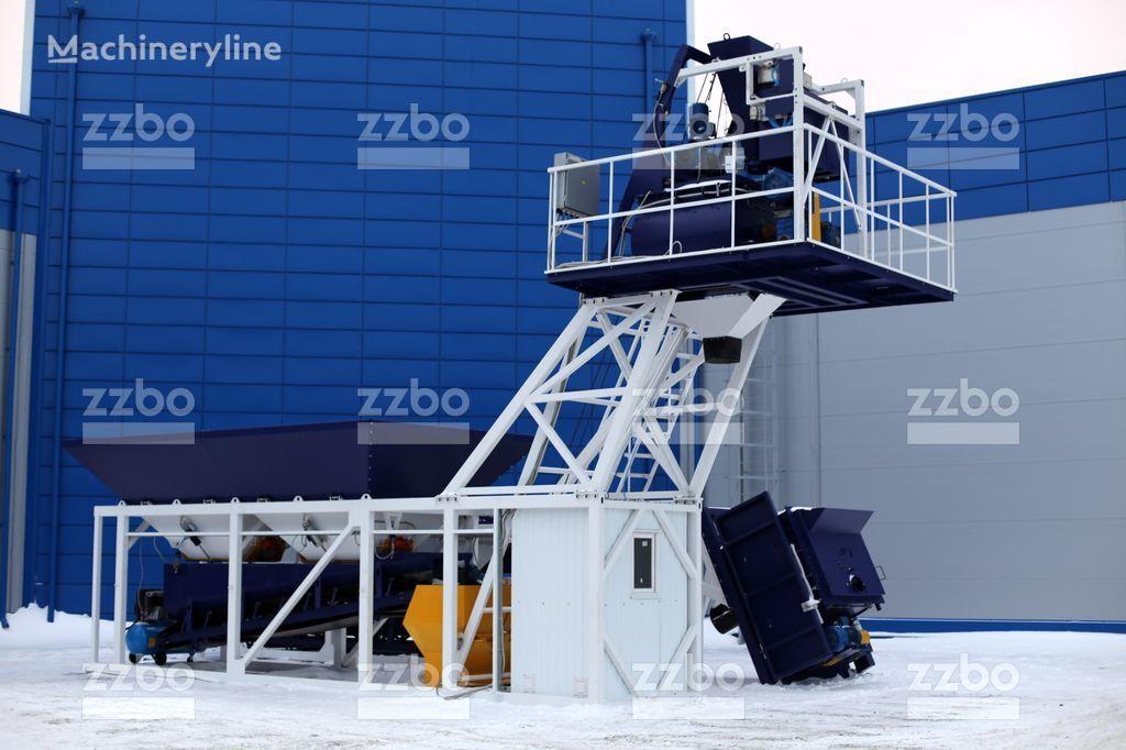 бетонный завод ZZBO Компакт-30