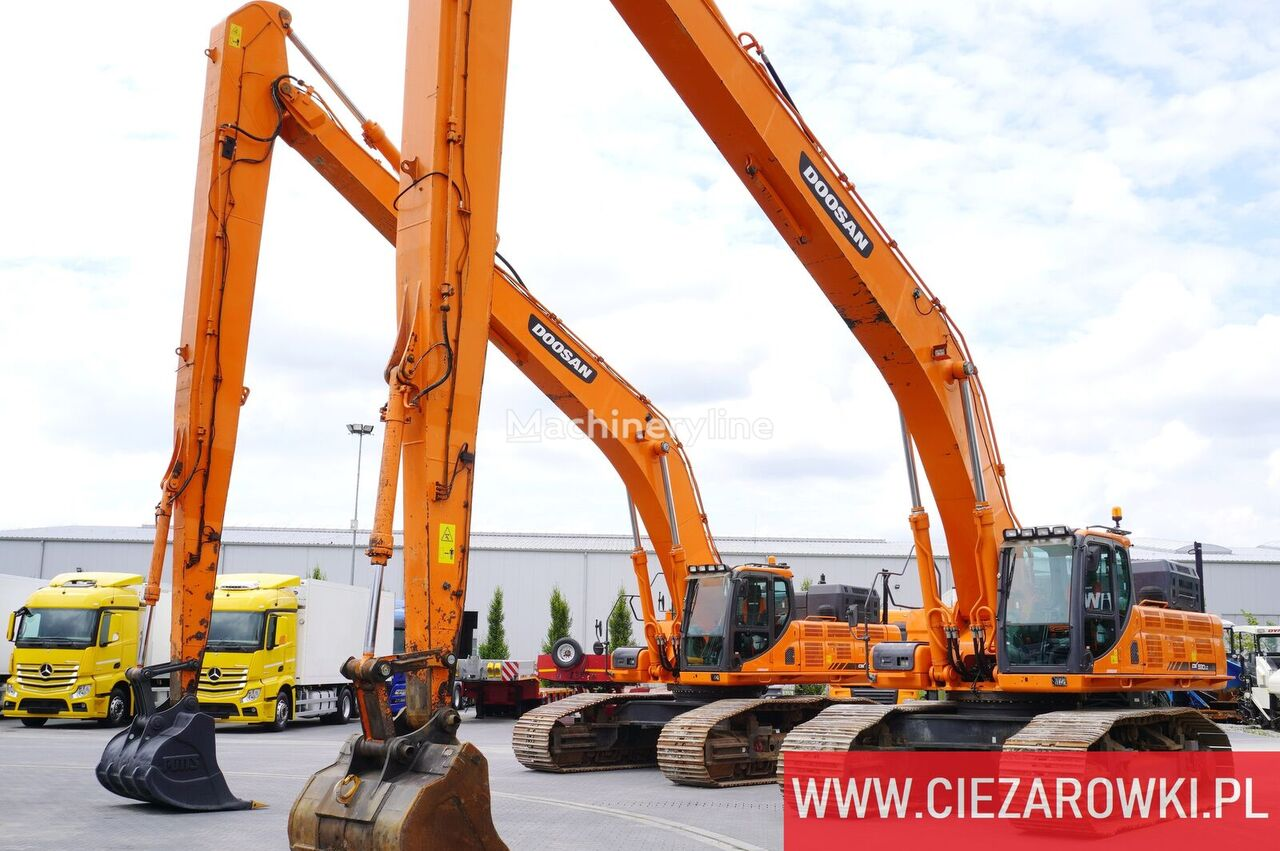 гусеничный экскаватор DOOSAN DX530LC-3 LONG REACH 20M / 52t / Geosystem Leica / 2 units for s
