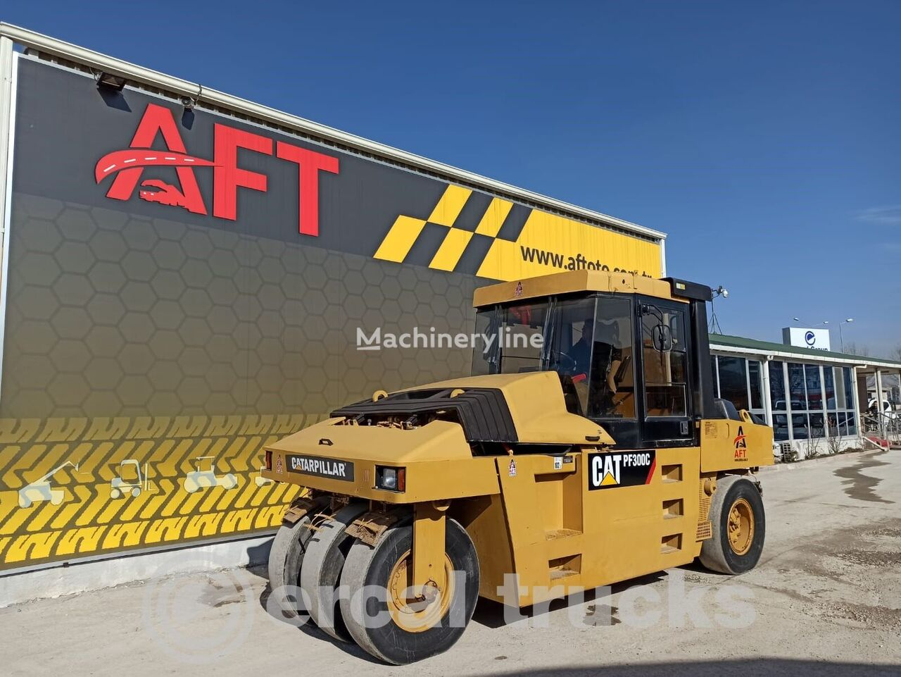 пневмоколесный каток CATERPILLAR PF 300C ROAD PNUEMATIC CYLİNDER