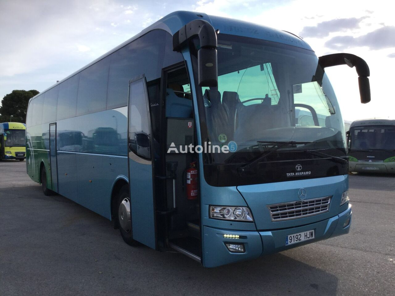 туристический автобус MERCEDES-BENZ OC500 1842h HISPANO SCALA (59-1+1)