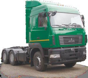новый тягач МАЗ 6430С9-570-021