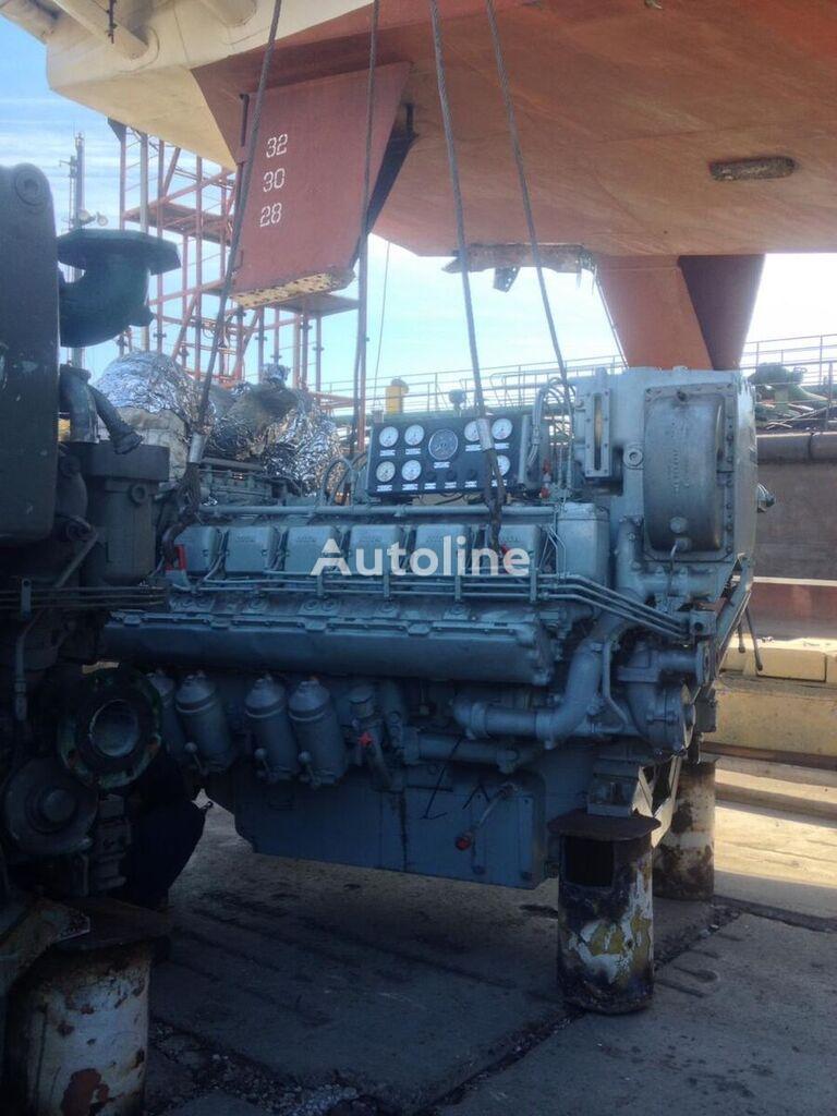 двигатель MAN MTU MARINE 12V396 TC82 для кемпера MAN