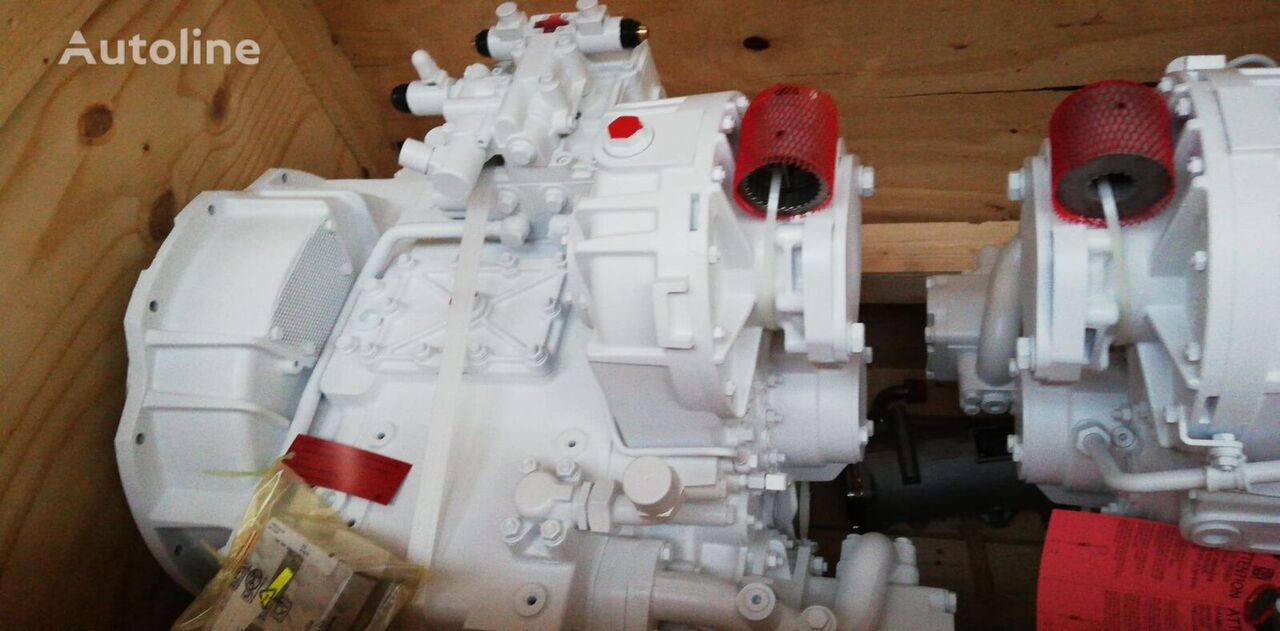 новая КПП ZF Marine 3055 для кемпера MAN D2862LE496 V12-2000HP